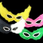 F-1234 - Assorted Feather Mask
