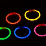 Glow Ear Ring(MG_0967). Col- Orange, Blue, Yellow, Pink & Green